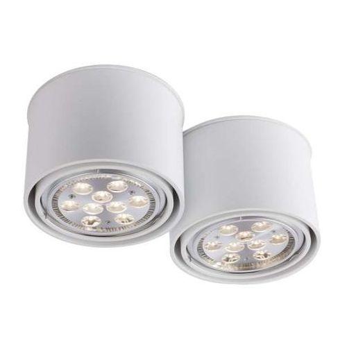 Spot LAMPA sufitowa MIKI 1118/GU10/BI Shilo natynkowa OPRAWA DOWNLIGHT do łazienki biały