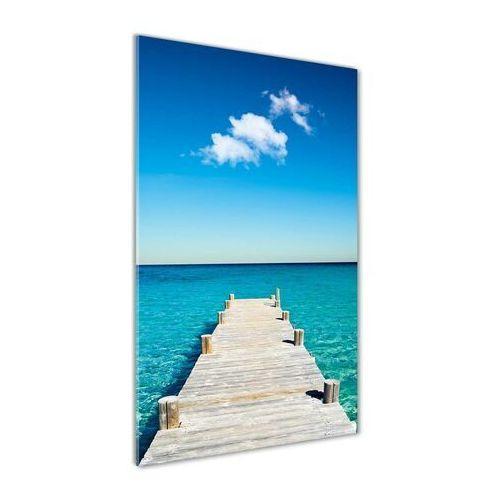 Foto obraz akryl do salonu Drewniane molo