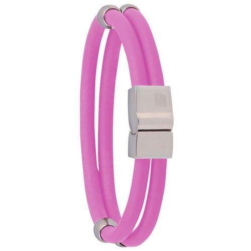 Bransoletka magnetyczna toliman , 18.50 cm, różowy marki Insportline
