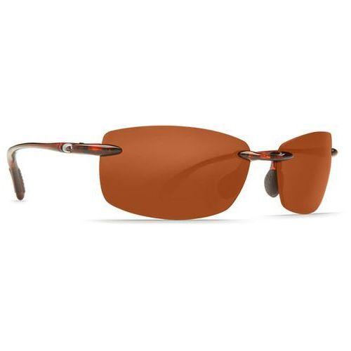 Okulary Słoneczne Costa Del Mar Tuna Alley Readers Polarized BA 10 OCP, kolor żółty