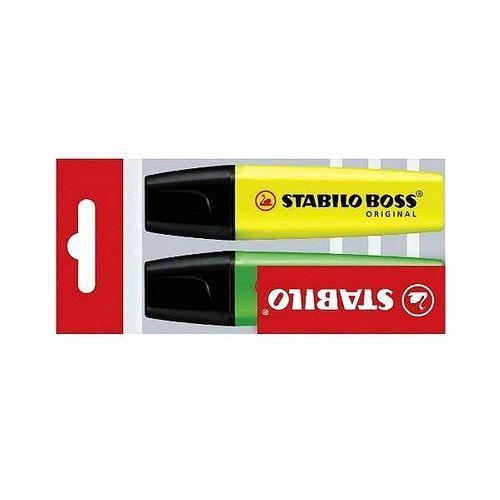 Zakreślacze Stabilo Boss Original 2 szt. w etui 70/2