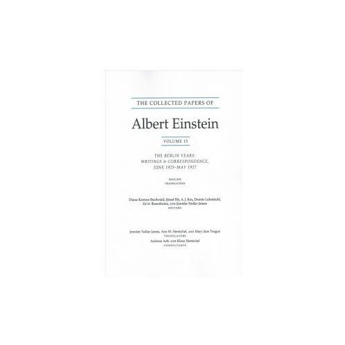 Collected Papers of Albert Einstein, Volume 15 (Translation Supplement)