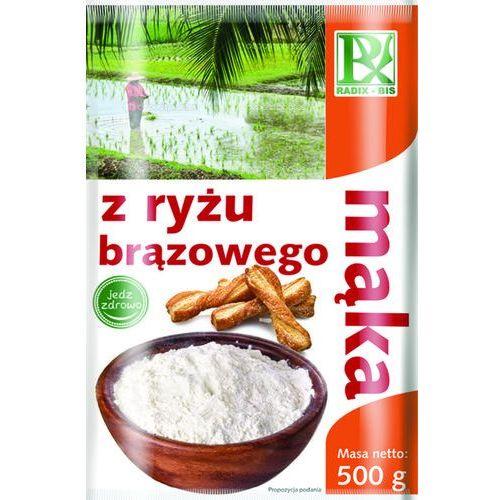 Radix Bis Mąka z Ryżu Brązowego 500g z kategorii Mąki