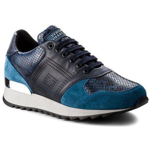 Sneakersy VERSACE COLLECTION - V900718 VM00388 V647N Multicolor blu scuro/b