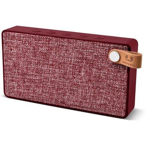 Głośnik mobilny FRESH N REBEL Rockbox Slice Fabriq Edition Ruby Czerwony