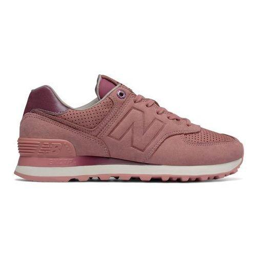 Buty New Balance WL574GRY, kolor różowy