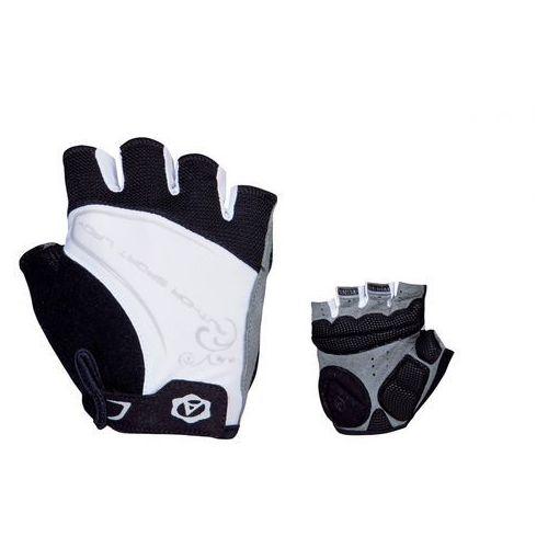 Author 07-130562 rękawiczki rowerowe lady comfort gel czarno-białe l