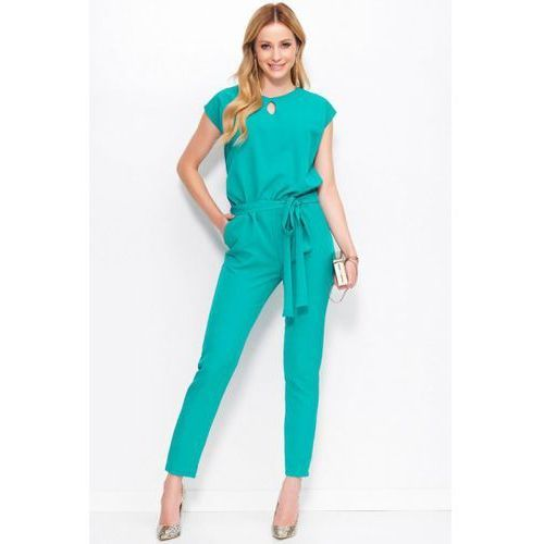 Kombinezon damski model m401 green, Makadamia