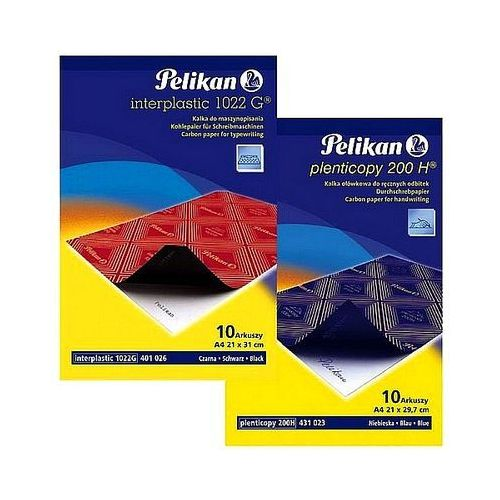 Kalka ołówkowa A4 Pelikan 200H niebieska 10 arkuszy 0000434738