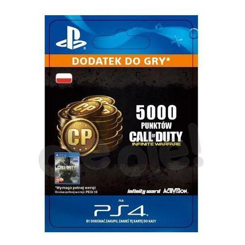 Sony Call of duty: infinite warfare - 5000 punktów [kod aktywacyjny]