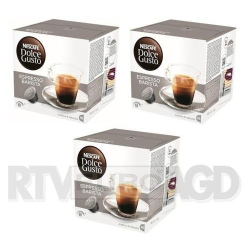 Nescafe dolce gusto espresso barista (3 opakowania) (0000001191434)
