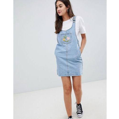 denim shift dress - blue marki Glamorous