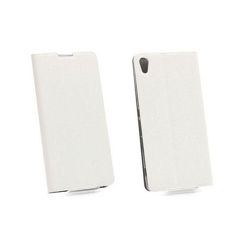 Sony xperia xa ultra - etui na telefon flex book - biały marki Etuo flex book