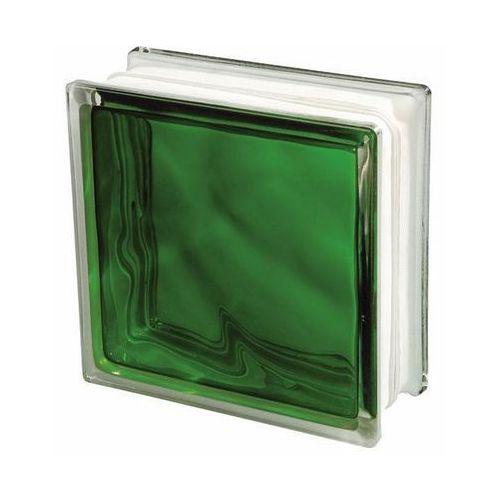 Pustak szklany Seves 1908 WGR zielony
