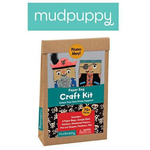 - zestaw kreatywny kukiełki piraci 4+ marki Mudpuppy
