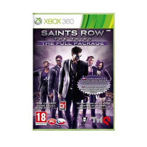 OKAZJA - Saints Row The Third (Xbox 360)