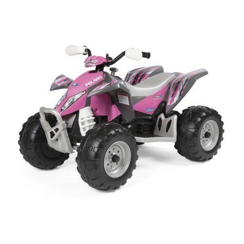quad dla dzieci polaris outlaw pink power marki Peg perego