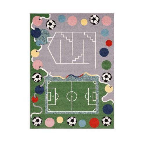 Dywan dziecięcy yard szaro-zielony 160 x 220 cm marki Agnella