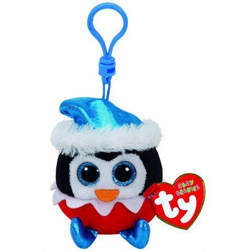Brelok pluszowy do kluczy pingwin Beanie Boos 8,5 cm