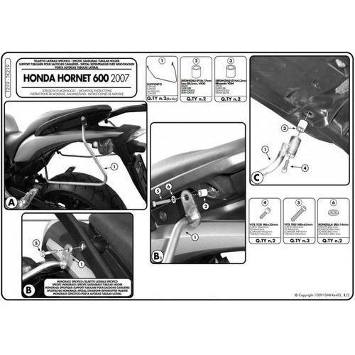 Kappa TK219 Stelaż sakw Honda CB600F Hornet 07-09