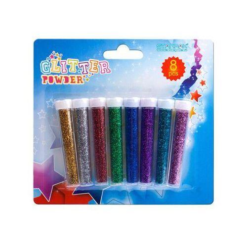 Brokat sypki 8 kolorów - STARPAK z kategorii Zabawki kreatywne