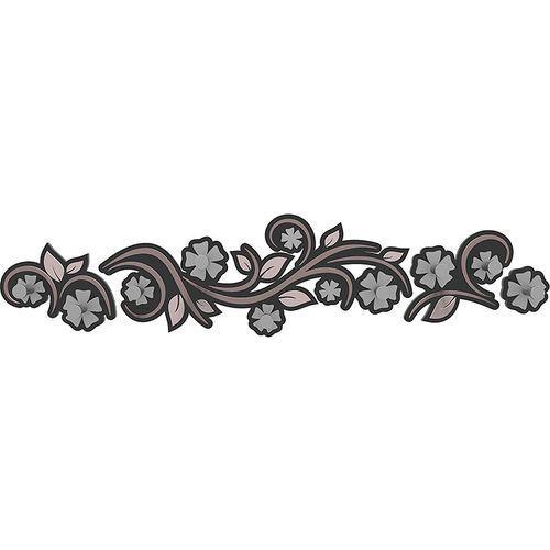 Wieszak ścienny Flowers CalleaDesign szara śliwka (13-005-34)