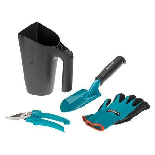 Gardena Zestaw narzędzia ogrodnicze z konewką