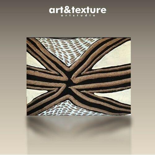 ARTESANO - Wielkoformatowy obraz na płótnie abstrakcyjny art&texture™
