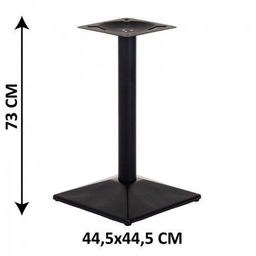 Podstawa stolika sh-4002-6/b, 44,5x44,5 cm (stelaż stolika), kolor czarny marki Stema - sh