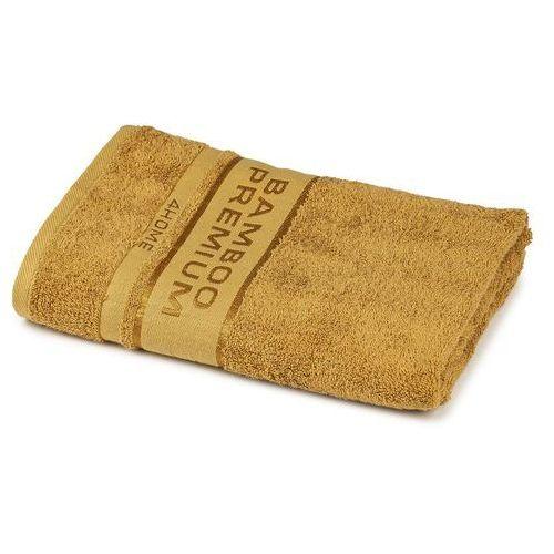 ręcznik kąpielowy bamboo premium jasnobrązowy, 70 x 140 cm, 70 x 140 cm marki 4home