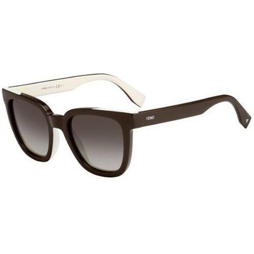 Okulary słoneczne ff 0121/s color flash mg4/vk marki Fendi