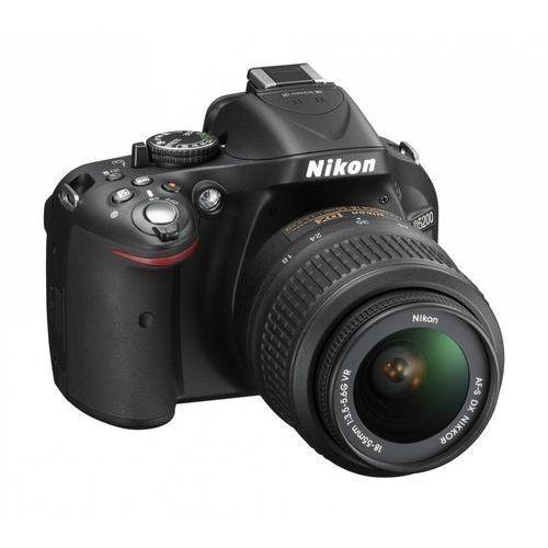 """Nikon D5200 [przekątna ekranu 3"""", rozdzielczość 24Mpx]"""