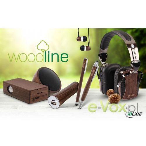 Słuchawki InLine woodin-ear (55357) Darmowy odbiór w 20 miastach! Raty od 3,40 zł