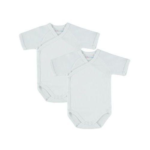 Pink or blue body dziecięce 2szt. kolor biały (4048649088283)