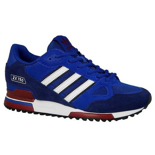 Buty męskie  originals zx 750 (bb1220) - niebieski marki Adidas
