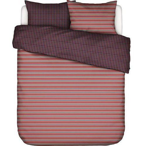 Essenza Pościel meg różowa 200 x 220 cm z 2 poszewkami na poduszki 60 x 70 cm (8715944643290)