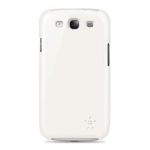 Pokrowiec BELKIN SnapShield (Samsung Galaxy S III) Biały, towar z kategorii: Futerały i pokrowce do telefonów