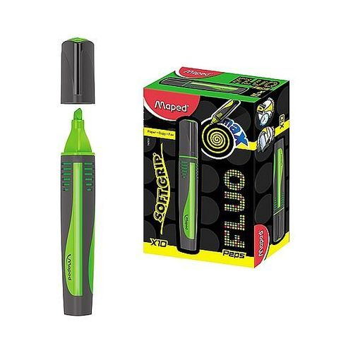 Maped Zakreślacz fluo peps max zielony 742933