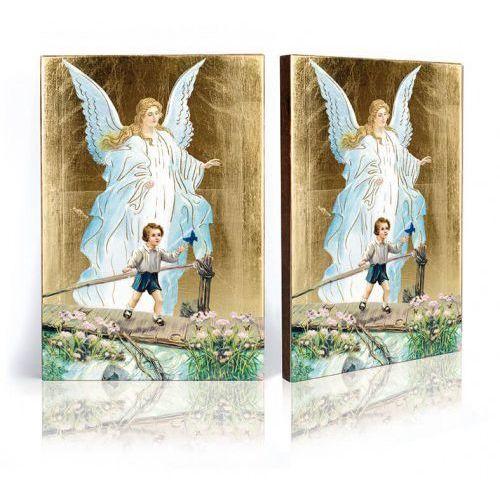 Ikona Anioł Stróż z chłopczykiem