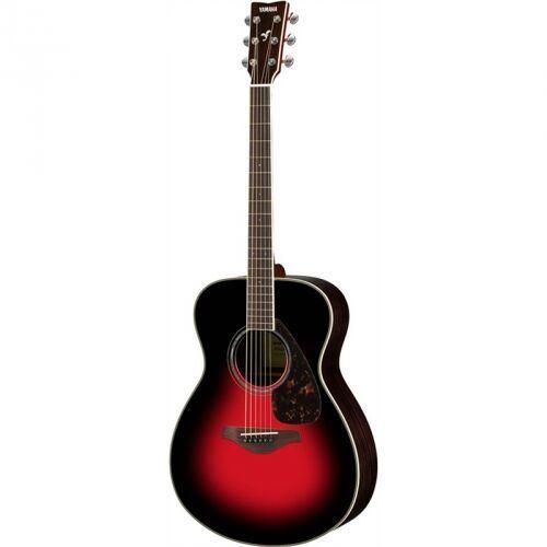 fs 830 dark sun red gitara akustyczna marki Yamaha