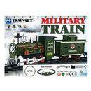 Kolejka na baterie Military train