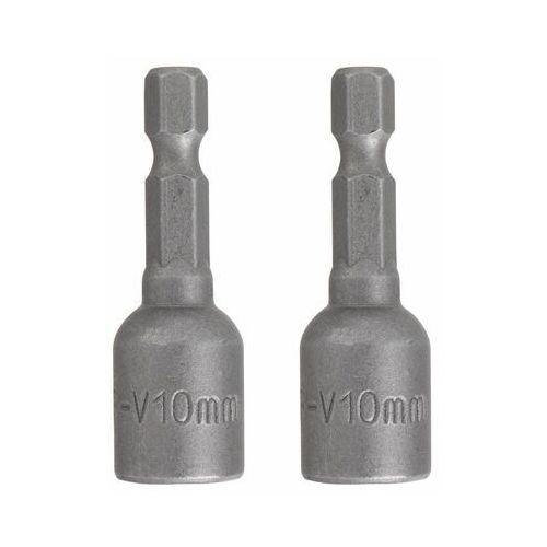 Klucze nasadowe magnetyczne 10x45 mm 2 szt. marki Dexter