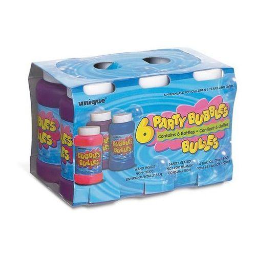 Bańki mydlane - 30 ml - 6 szt. marki Unique