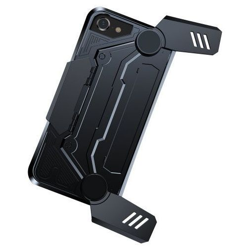 Baseus gamer gamepad case iphone 8/7 czarne (6953156270442)