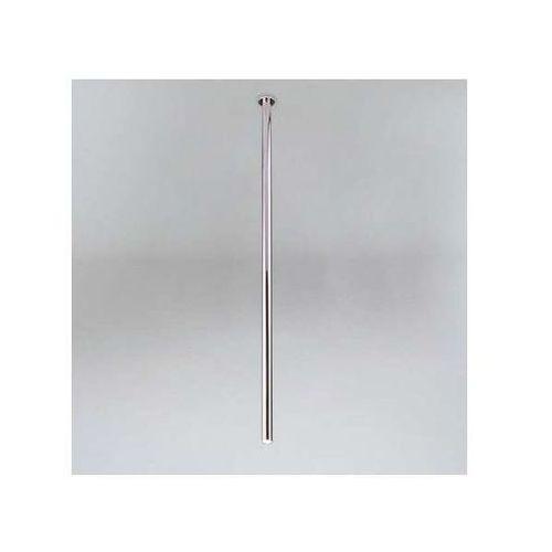 Wpuszczana LAMPA sufitowa ALHA T 9000/G9/1000/CH Shilo minimalistyczna OPRAWA metalowa do zabudowy sopel tuba chrom