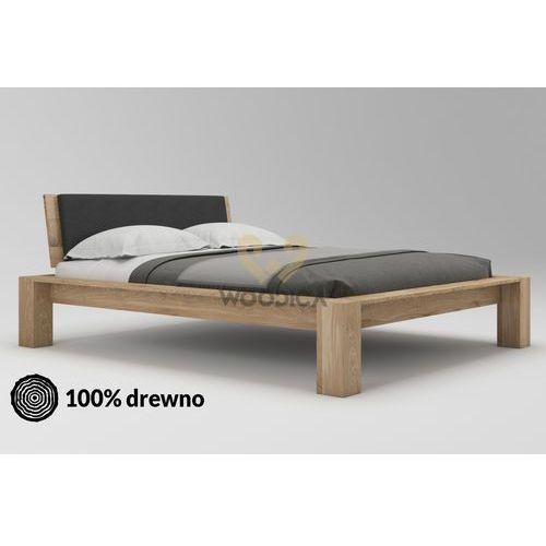 Łóżko dębowe imperata 03 180x200 marki Woodica