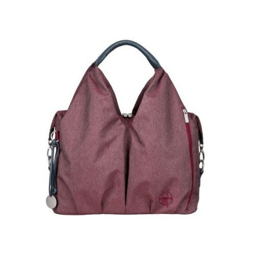 LÄSSIG Torba na akcesoria do przewijania Green Label Neckline Bag Ecoya burgundy red (4042183335421)