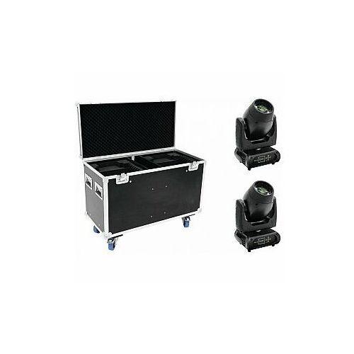 Futurelight zestaw 2x dmb-160 led moving-head + case (4026397593624)