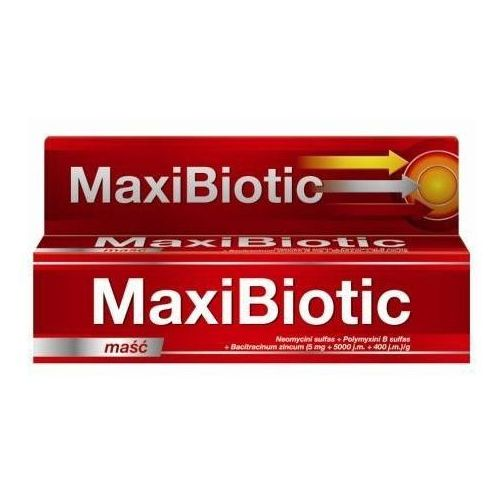Maxibiotic maść 5g marki Icn polfa rzeszów