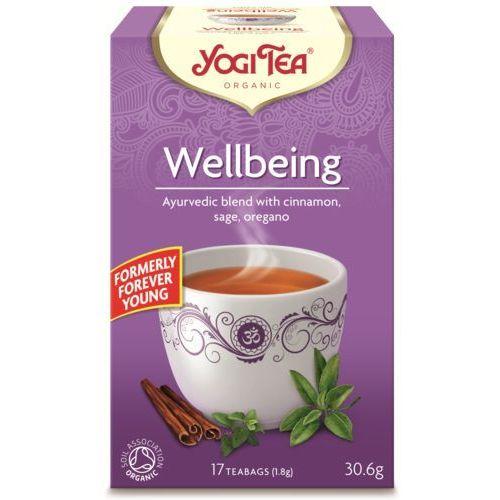 Herbata na dobre samopoczucie bio (17 x 1,8g) marki Yogi tea